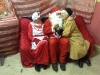 Santa in Mullagh Hall December 2014